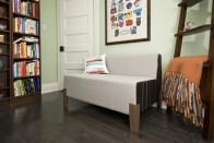 Custom Cubert love seat